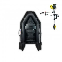 RIB230 Black + OUTBOARD 1.2 HP