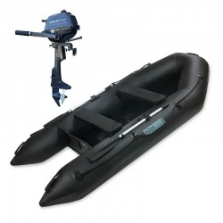 RIB330 Black + OUTBOARD 2,5 HP