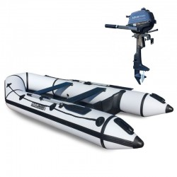 RIB330 White + OUTBOARD 2,5 HP