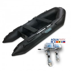 RIB330 Black + OUTBOARD 5 HP