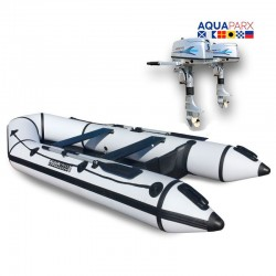 RIB330 White + OUTBOARD 5 HP