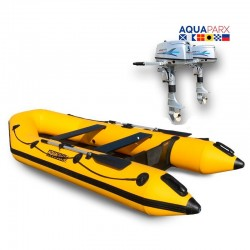 RIB330 Yellow + OUTBOARD 5 HP