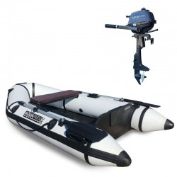RIB230 White + OUTBOARD 2.5 hp