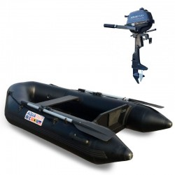 RIB230 Black + OUTBOARD 2.5 hp