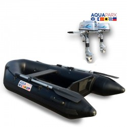 RIB230 Black + OUTBOARD 5 hp