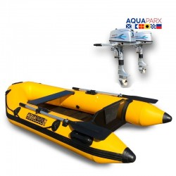RIB230 Yellow + OUTBOARD 5 hp