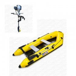 RIB280 Yellow + OUTBOARD...