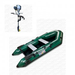 RIB280 Green + OUTBOARD 1.2 hp