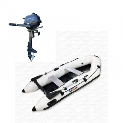RIB280 White + OUTBOARD 2.5 hp