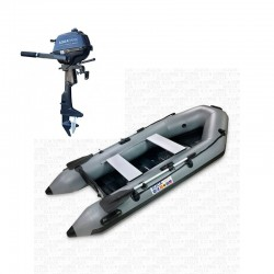 RIB280 Gray + OUTBOARD 2.5 hp