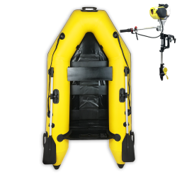 RIB230 Yellow + OUTBOARD...