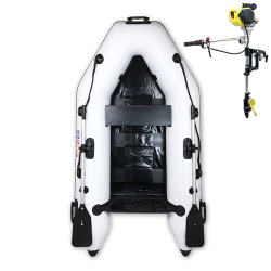 RIB230 White + OUTBOARD 1.2 HP